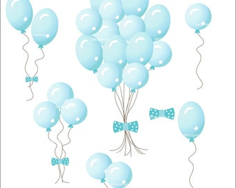Light Blue Balloon Clip Art Images & Pictures - Becuo