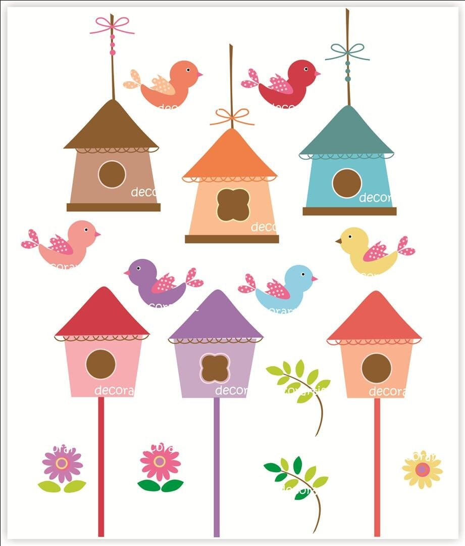 Displaying 20> Images For - Bird House Clip Art...