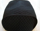 Black 4 Slice Toaster Cover Kitchen Small Appliance Cover Made To Order