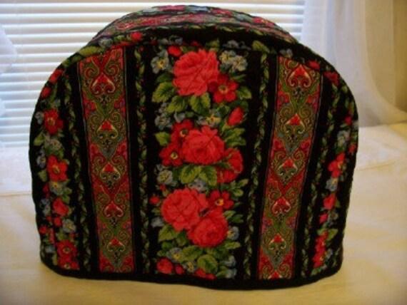 red and black 2 slice toaster cover. Black Bedroom Furniture Sets. Home Design Ideas