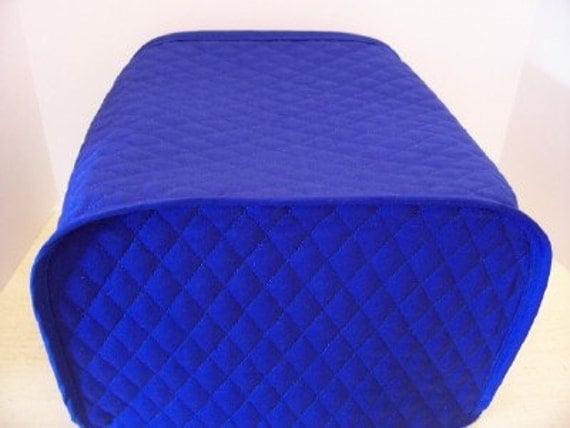 Royal Blue 4 Slice Toaster Cover Reversible