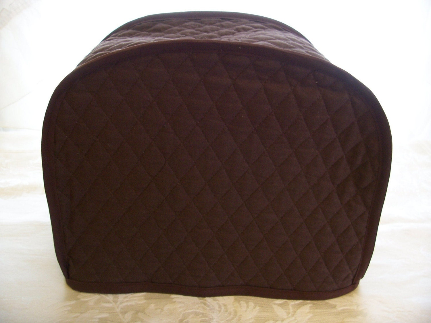 brown 2 slice toaster cover by cozykitchencovers on etsy. Black Bedroom Furniture Sets. Home Design Ideas