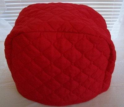 red toaster cover for 2 slice toaster. Black Bedroom Furniture Sets. Home Design Ideas