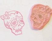 Skull Girl Stamp