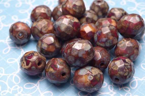 Toffee Nuggets - Glass Beads