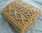 Lace Hand Knit Blanket, 48x60