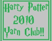 3 month Harry Potter Yarn Club..... The Deathly Hallows  Variegated Version