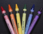 Chemistry Crayon Labels - set of 8