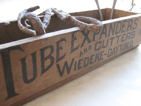 Vintage Rubber Tube Expanders shipping box