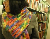 Crayola Rainbow Multi-color Scarf X-tra Long