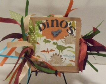 Dino's Mini Paper Bag Album
