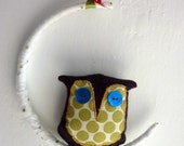 Owl In The Moon Mobile For Baby Nursery