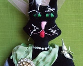 Coco Kitty,  Soft Sculptured Art Doll
