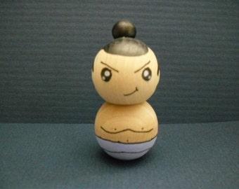 Sumo Kokeshi Doll