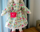 "PDF Sewing Pattern 17"" Emily-Jane Ragdoll, dress, shoes & bag"