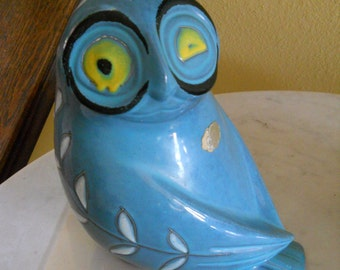Pottery Owl Bank from Spain