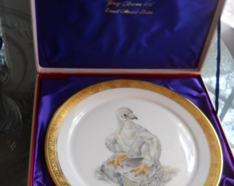 Young America Plate by Edward Marshall Boehm