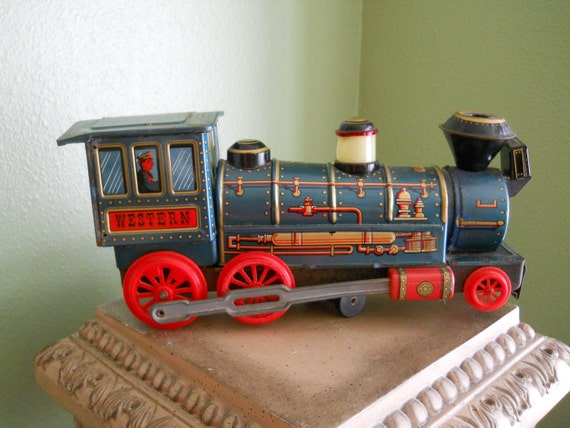 Western Train made by Modern Toys Japan