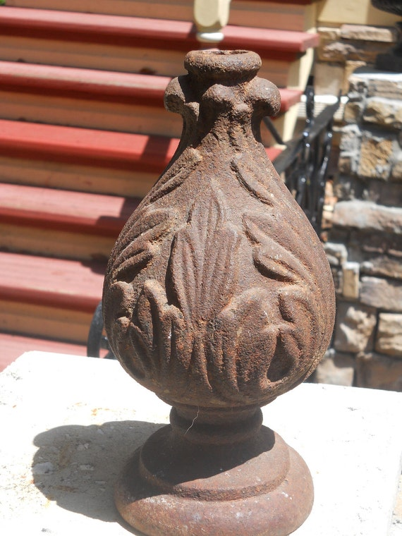 Old Cast Iron Architectural Piece