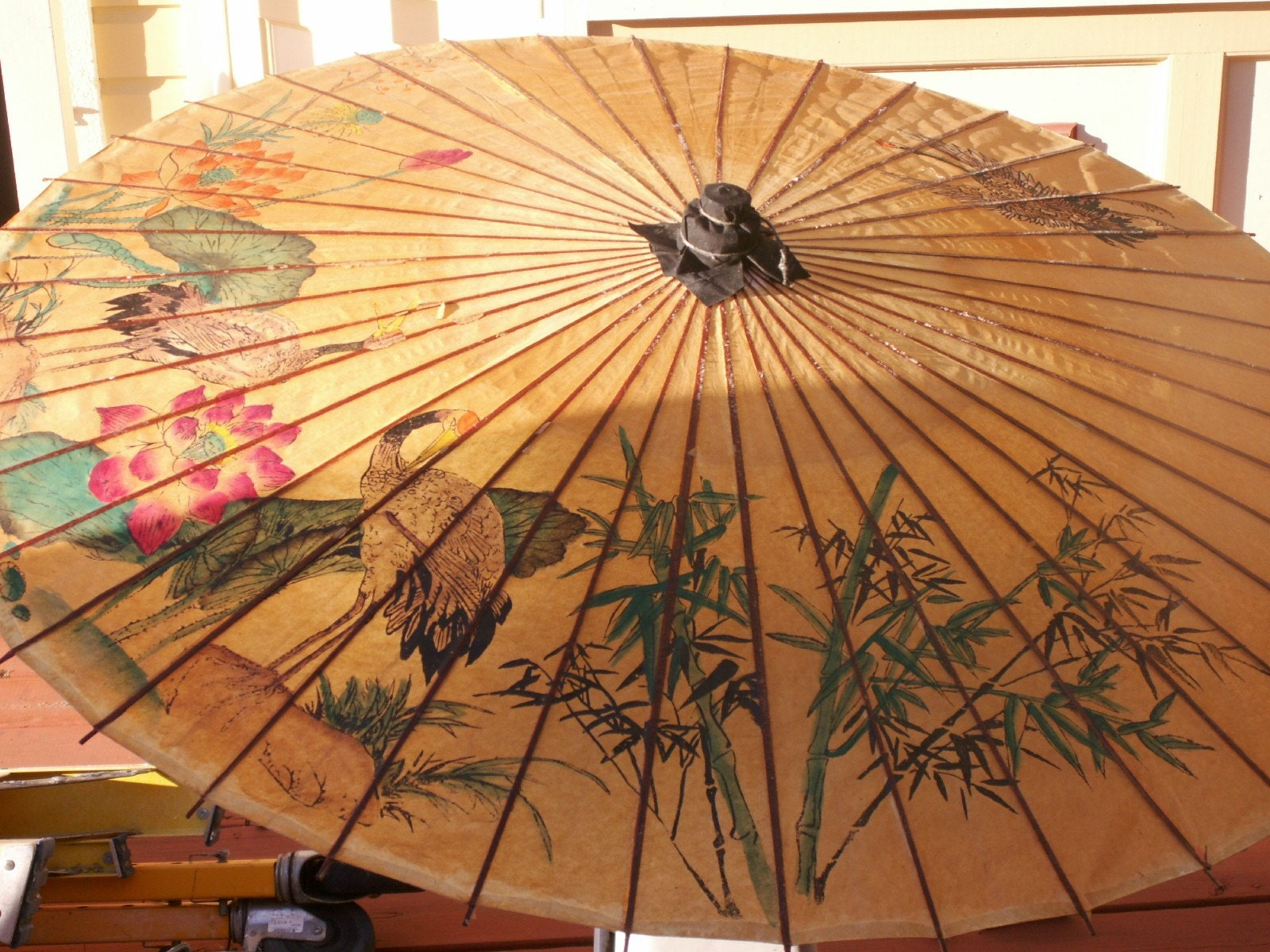 Japanese Parasol Of Rice Paper