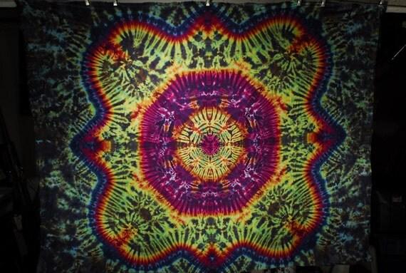 Tie Dye Tapestry by Emerald Springs