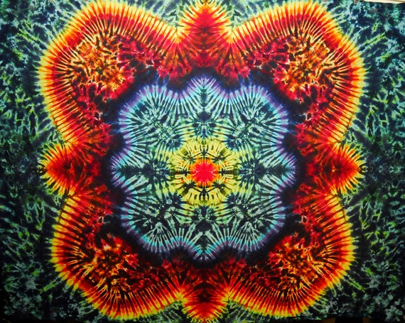 Tie Dye Tapestry by Emerald Springs