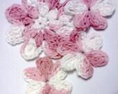 Funky Little Flower Embellishments Set