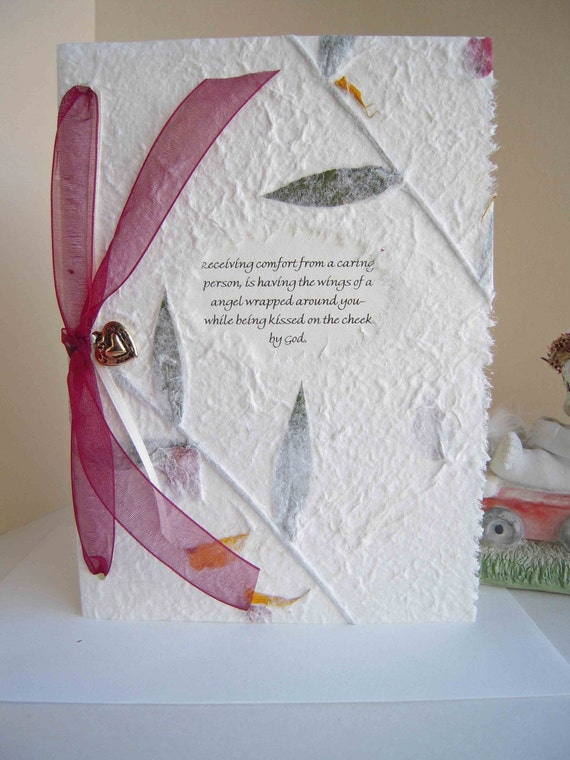 Friendship Card with Removable Heart Charm