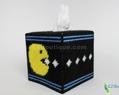 Pac-Man inspired Tissue Box Cover