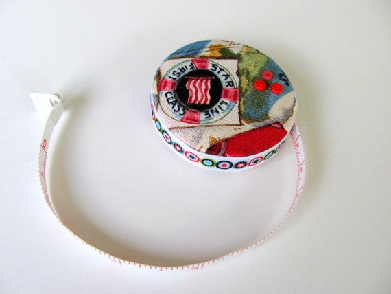 Travel Theme FabricTape Measure