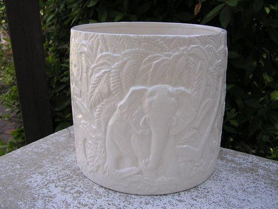 Majestic Elephant Garden Pot
