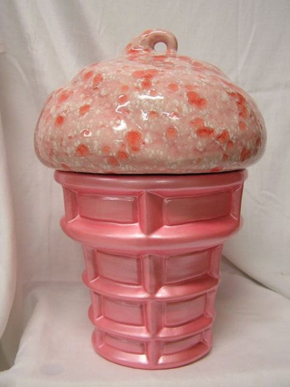 Peppermint Twist Cream Cookie Jar