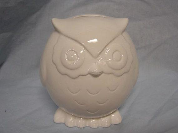 Baby Owl Bank