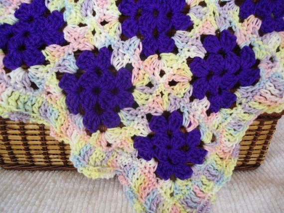 Purple Pretty for Baby or Dolly, Soft and Cuddly