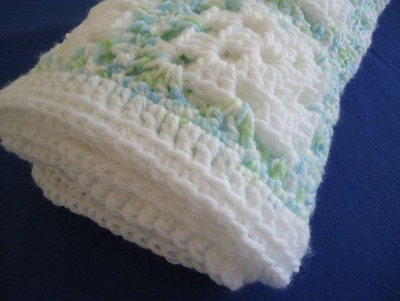 Baby Blue Boy Softee with White and a Touch of Green