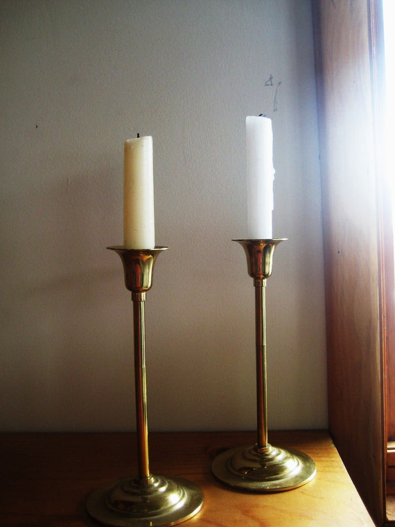 Gold Romance Candlesticks