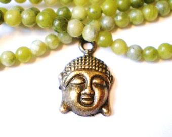 8 Bronze Buddha head charms antique finish jewelry supplies 22mm 15mmyoga jewelry supply ,