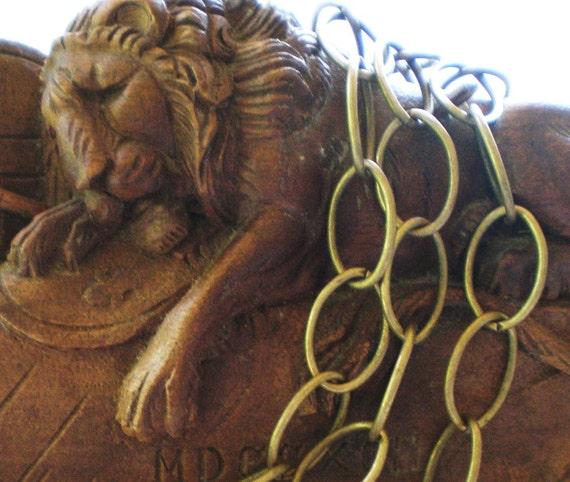 Bronze jewelry chain 10 ft.metal jewelry art supply 12mm 18mm