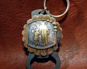 Dads and Daughters - An Unbreakable Bond Key Ring/ Beer Bottle Opener - Or Choose Your Concho