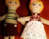 Twin Dolls Reserved for Lisa