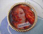 SALE - Beautiful Woman Magnet