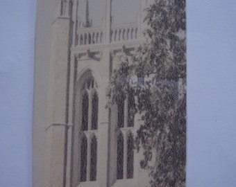 Bell Tower Town Hall Bookmark - faded (laminated)