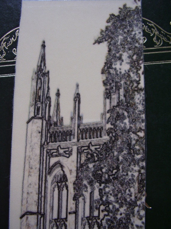 Bell Tower Town Hall Bookmark (laminated)