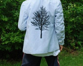 Boys Screened Tree Jacket