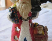 Santa Clause Candle Holder