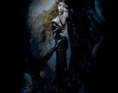 Dark Goddess Original Cross Stitch Pattern