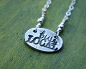 Buy Local Charm Necklace - Fine and Sterling Silver