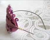 Sweet Love - feather pearl headband - Free Shipping Worldwide - Romance And Whimsy