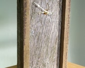 RESERVED for Kristin - Reclaimed Wood Clock
