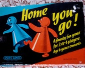 1960s vintage boxed spears board game - 'home you go""